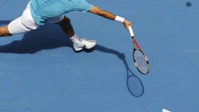 Strecken musste sich Federer gegen Montanes selten