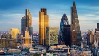 Immer noch die Nummer 1: der Finanzplatz London. key
