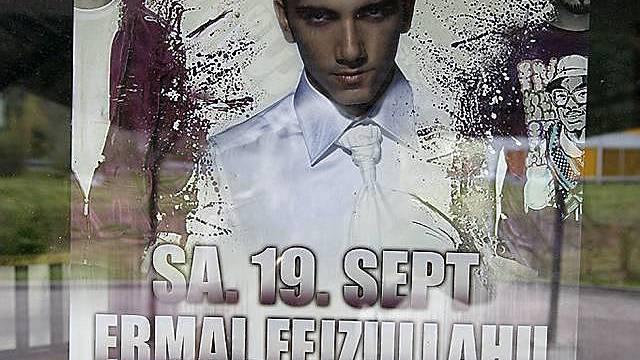 Plakat für Konzert von Marko Perkovic