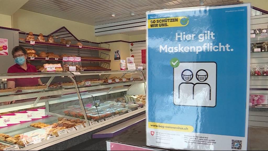Keine Masken beim Einkaufen: Profitiert der Kanton Aargau von mehr Einkaufstouristen?