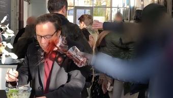 Die Attacke auf SVP-Alt-Nationalrat Christoph Mörgeli.