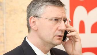 SVP-Grossrat Andreas Glarner ist zuversichtlich, mit seiner Klage Erfolg zu haben.