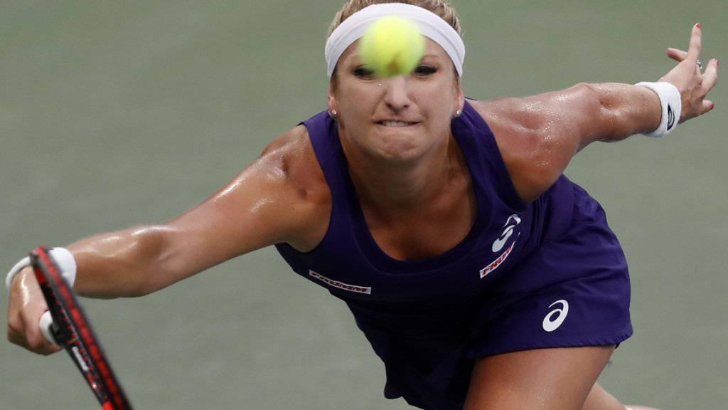 Ärgerliche und unnötige Niederlage: Timea Bacsinszky scheiterte am US Open in der 2. Runde an Varbara Lepchenko