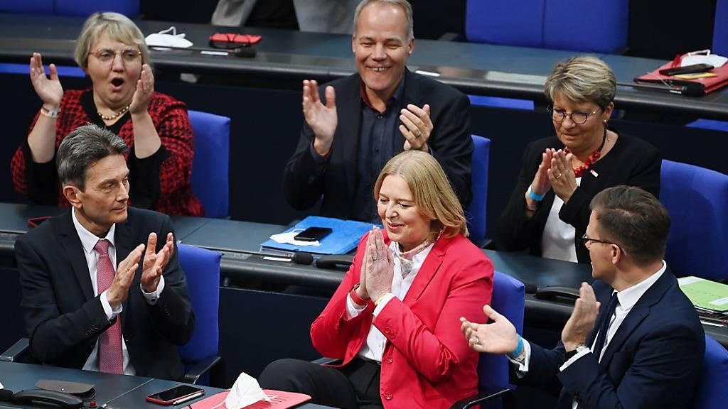 SPD-Politikerin Bas zur deutschen Bundestagspräsidentin gewählt
