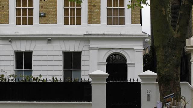 Das Haus liegt im Londoner Stadtteil Camden (Archiv)