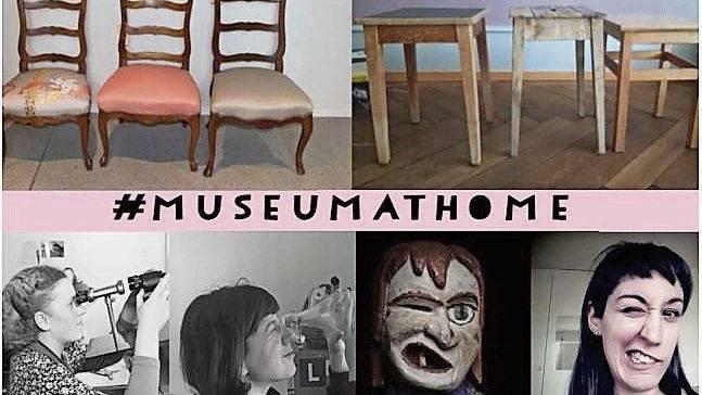 Das Stadtmuseum Aarau hat seine Internet-Startseite zum «museum@home» gemacht. In der Challenge imitiert das Publikum Bilder aus der Sammlung.