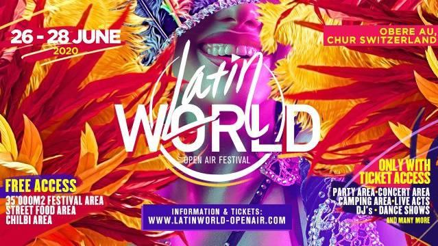 Latin World Festival in Chur