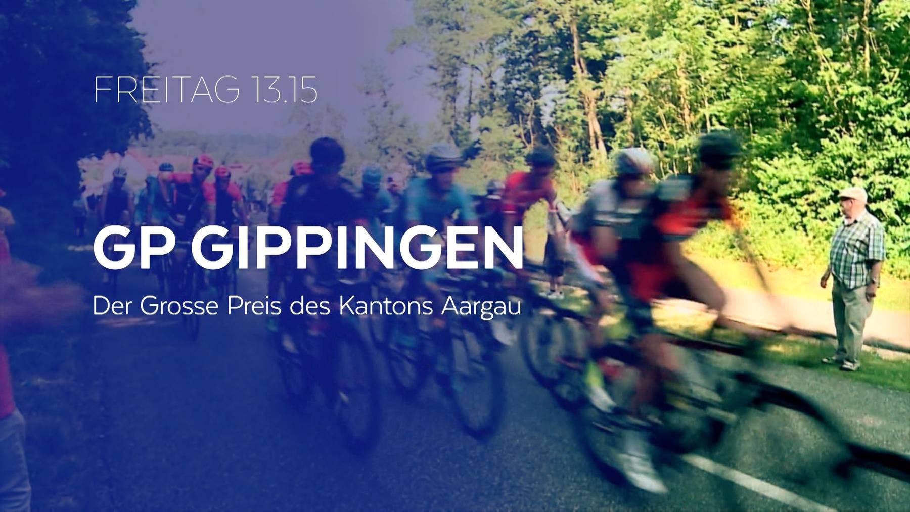 Live ab 13.15 Uhr: GP Gippingen 2021