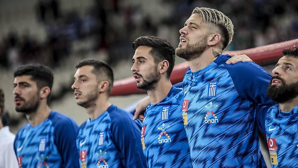 Griechenlands Nationalteam ist in der EM-Qualifikation in Rücklage