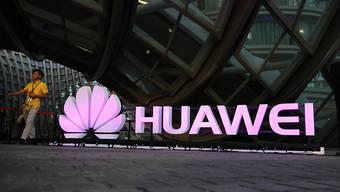 Das chinesische Unternehmen Huawei hat im vergangenen Jahr am meisten Patente beim europäischen Patentamt angemeldet. (Archiv)