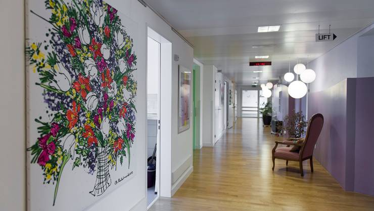 Im stationären Bereich des Hospizes Aargau in Brugg sind Besuche uneingeschränkt möglich.
