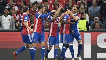 Fc Basel - Benfica Lissabon 5:0 (27.09.2017)