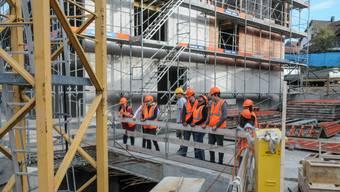 Der Baumeister Verband Aargau diskutierte die drängendsten Fragen des Bauhauptgewerbes. (Symbolbild)