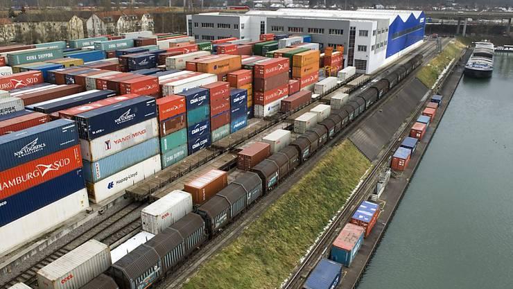 Schweizer Aussenhandel schrumpft (Archivbild)