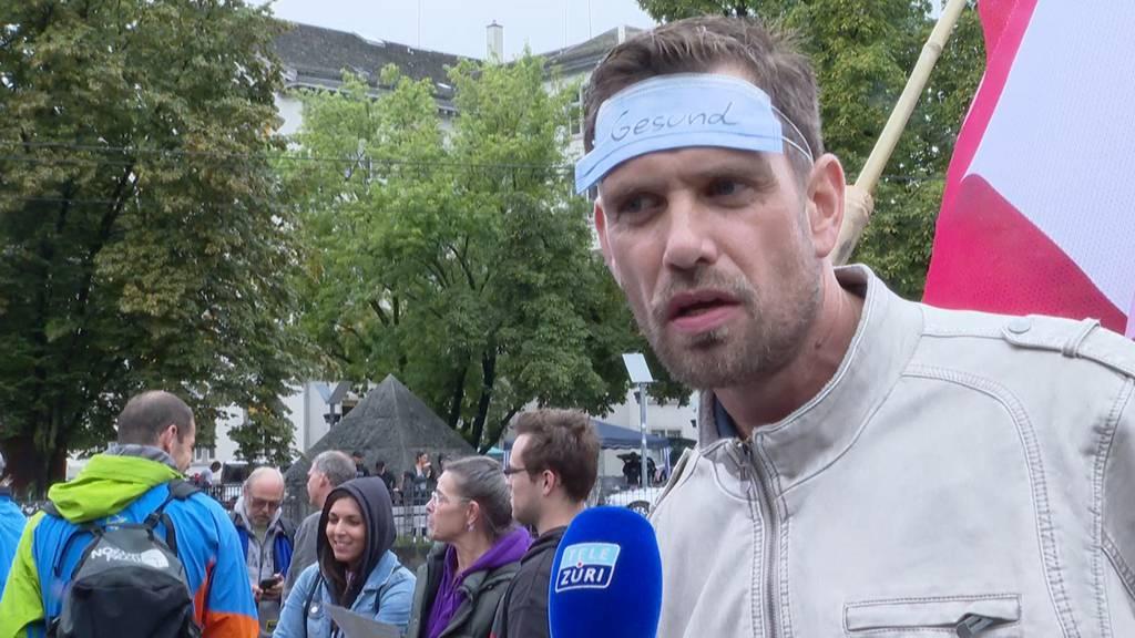 «Wir machen das nicht mehr mit» - Deshalb demonstrieren die Menschen in Zürich