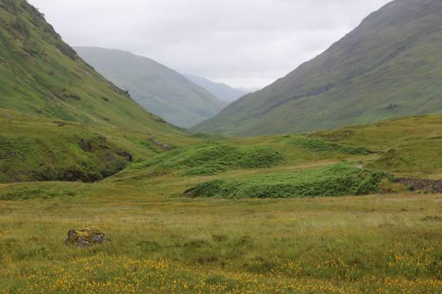 """Die ideale Kulisse für Mittelalterfilme: In Glencore wurden Teile von """"Outlander""""  gedreht. Bild: David Coulin"""