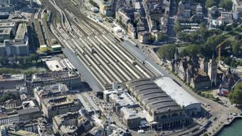 Störung im Zürcher Hauptbahnhof führt zu Verspätungen (Archiv)
