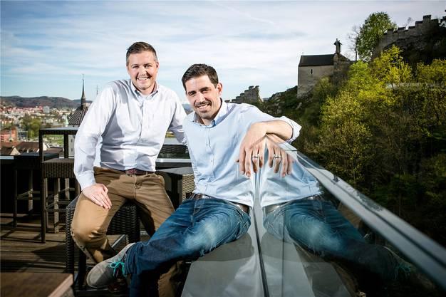 «Torre»-Betreiber Peter Albiez (l.) und Tobias Koller. (Archivbild)