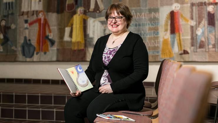 Mit Fantasie durch die Krise: Pfarrerin Esther Grieder schlägt zum Beispiel das Führen eines Maltagebuchs vor. Sie selbst nutze es während ihres vierjährigen Aufenthalts in Südkorea.