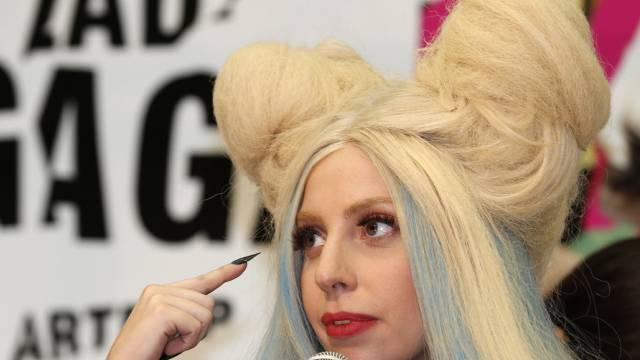 Hat's schwer gehabt bei Männern: Lady Gaga (Archiv)