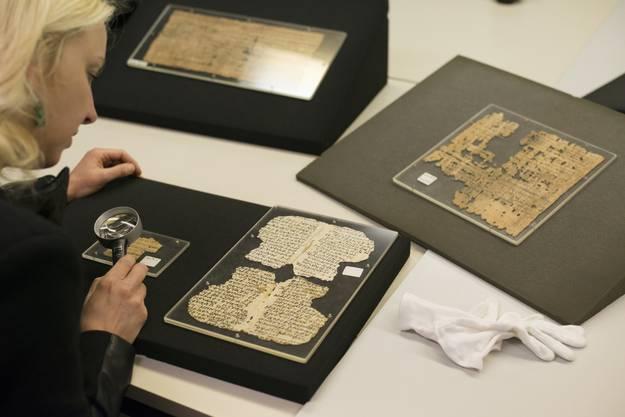 Professorin Sabine Huebner entschlüsselte die mysteriöse Papyrussammlung der Universität Basel.