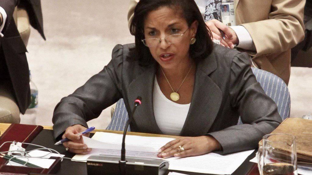 Die Nationale Sicherheitsberaterin unter Ex-US-Präsident Barack Obama, Susan Rice, geht in den Verwaltungsrat von Netflix. (Archivbild)