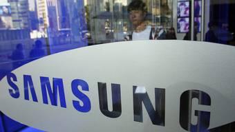 Der Schriftzug von Samsung (Archiv)