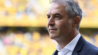 Basels Trainer Marcel Koller führte sein Team wieder auf Augenhöhe mit YB