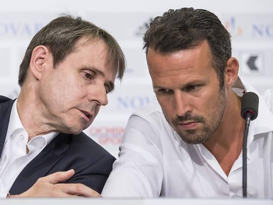 FCB-Präsident Bernhard Burgener hält an Sportchef Marco Streller fest.
