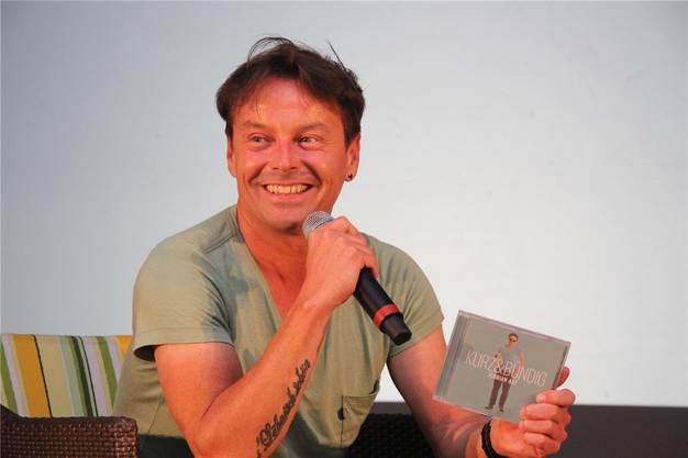 Florian Ast mit neuer CD.