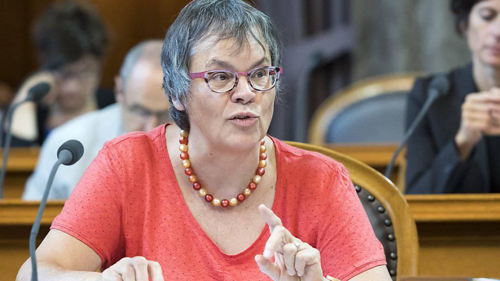 Die Genfer SP-Ständerätin Liliane Maury Pasquier ist am Montag zur Präsidentin der Parlamentarischen Versammlung des Europarates gewählt worden. (Archivbild)