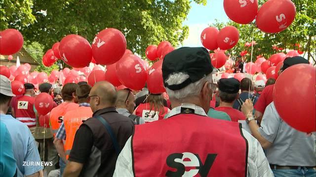 Mehr Arbeit für weniger Lohn: SBB-Streik?