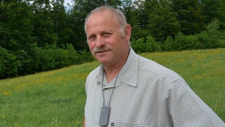 Benjamin Brunner, der als Wisent-Ranger vorgesehen ist, gibt sich trotz der breiten Kritik unbeirrt.