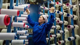 Auch chinesische Textilien sollen mit amerikanischen Importzöllen belegt werden.