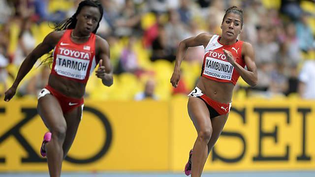 Knapp nicht im Halbfinal: Mujinga Kambundji