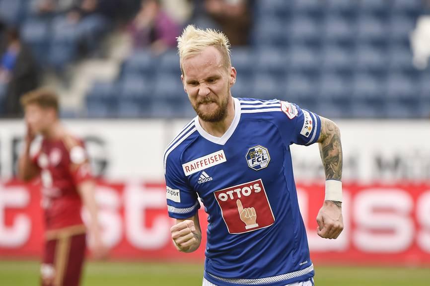 Markus Neumayr traf zwei Mal vom Penalty-Punkt für den FCL.
