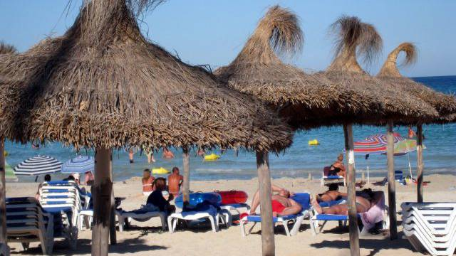 Der Tourismus half Spanien aus der Rezession (im Bild Mallorca)