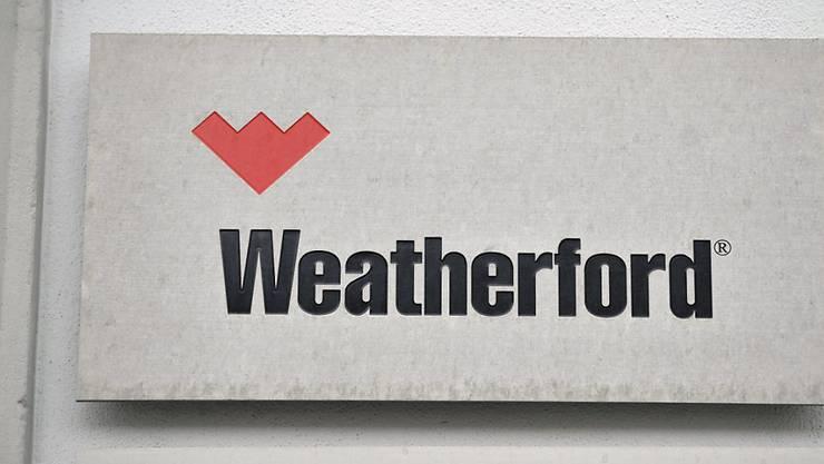 Weatherford macht der tiefe Ölpreis zu schaffen.
