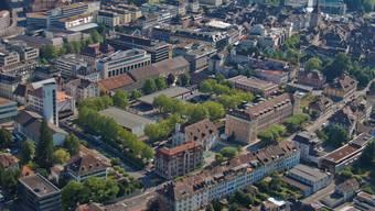 Das Kasernenareal im Herzen Aaraus soll für die Bevölkerung auch ein Ort der Begegnung werden. (Archiv)