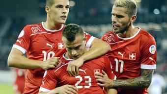WM-Quali-Spiel Schweiz - Albanien