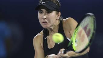 Belinda Bencic bestätigte in Indian Wells mit einem 6:4, 6:1 über Alison van Uytvanck, zuletzt Turniersiegerin in Budapest, ihre markante Aufwärtstendenz.