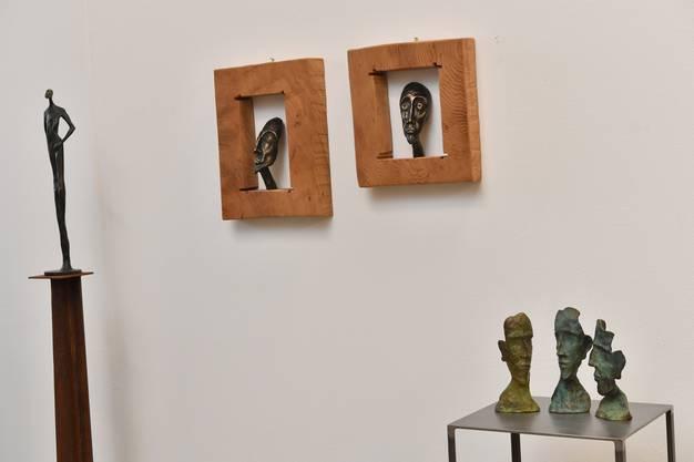 Weitere Werke vom Bronzegiesser Oliviero Gorza.