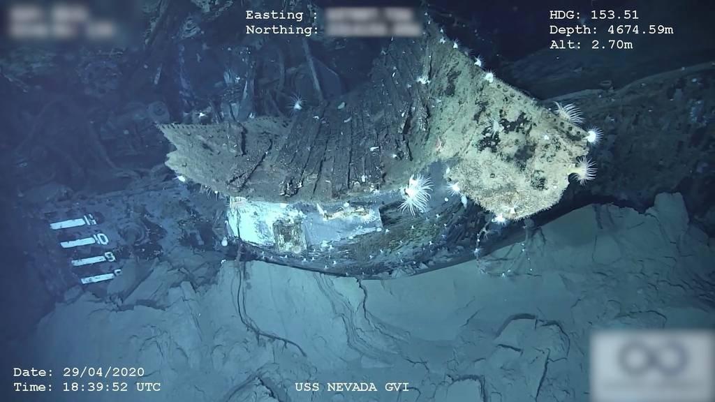Nach über 70 Jahren: Verschollenes US-Schlachtschiff vor Hawaii gefunden