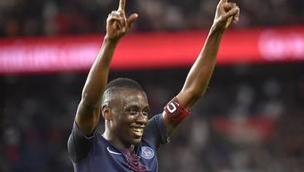 Er jubelt in Zukunft für Juventus Turin: der französische Internationale Blaise Matuidi