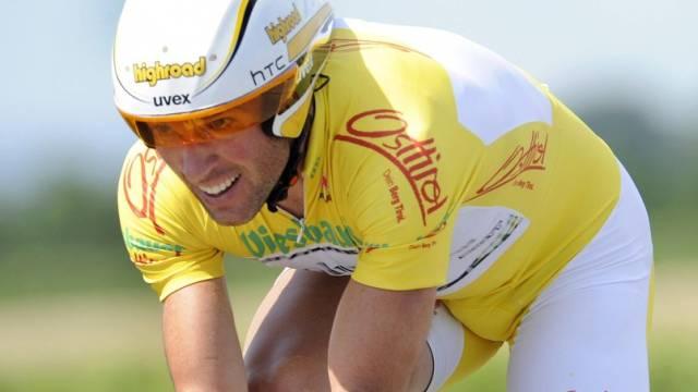 Michael Albasini wurde 14 Sekunden hinter dem Sieger Etappenzweiter