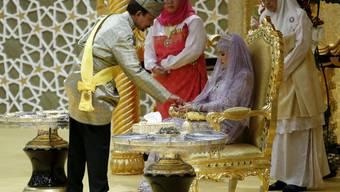 Sultan-Tochter heiratet im Goldrausch in Brunei