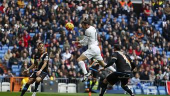 Gareth Bale führte mit vier Treffern Real Madrid zu einem Kantersieg gegen Rayo Vallecano