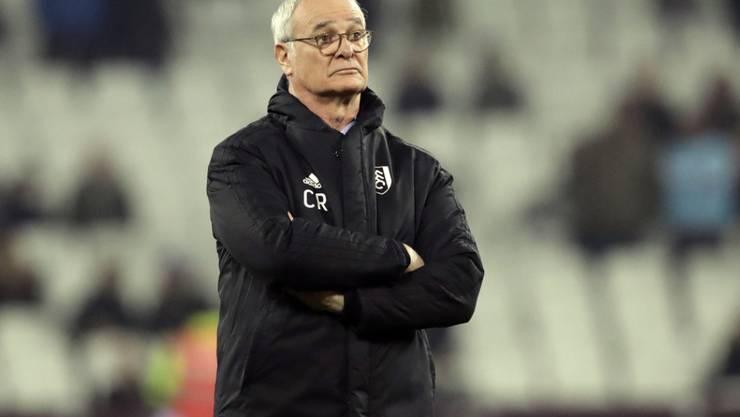 Claudio Ranieris Zeit als Coach von Fulham ist nach etwas mehr als drei Monaten bereits abgelaufen