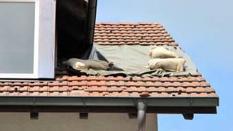 Die Baselbieter Gebäudeversicherung musste 2013 für deutlich weniger Schäden als im Vorjahr aufkommen. (Symbolbild)