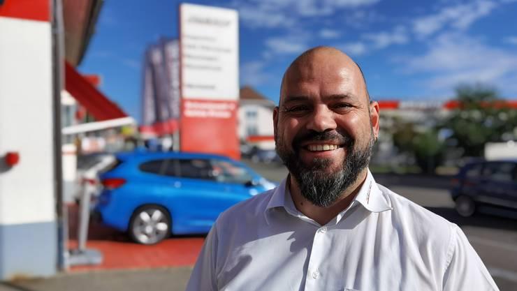 Thomas Stocker arbeitet seit 25 Jahren bei Auto Kunz.